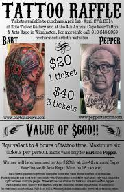 tattoo raffle unify tattoo company