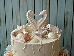 seahorse cake topper seahorse wedding cake topper distressed seahorse cake