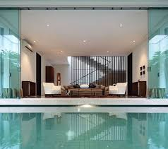 modern house plans with pool simple image of modern single storey