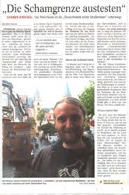 Allgemeine Zeitung Bad Kreuznach Deutschlands Erster Straßenleser Dennis Knickel
