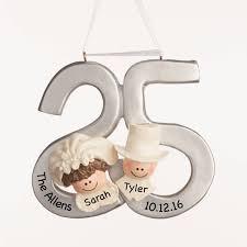 anniversary ornaments wedding ideas 25thedding anniversary ornament 201725th ornaments