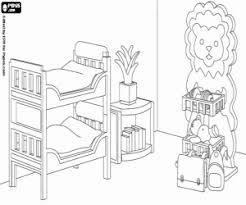 coloriage de chambre de fille coloriage une chambre de playmobil à imprimer