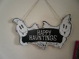 happy everything sign ghost hanging wall and door signs wikii