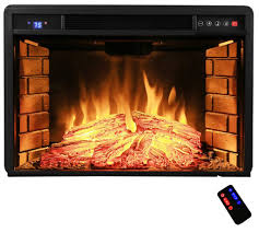 Electric Insert Fireplace Gas Logs Inserts And Glass Rock Fireplace Ideas