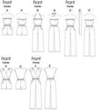 jumpsuit stitching pattern free printable sewing patterns jumpsuits in 2 lengths and sash