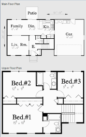 colonial home plans and floor plans colonial house plans kearney 30 062 associated designs two