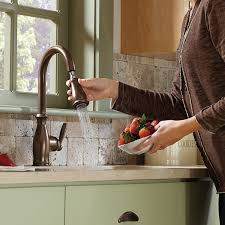 moen brantford kitchen faucet rubbed bronze moen brantford rubbed bronze pull kitchen faucet hum