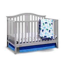 Crib With Mattress Graco Solano 4 In 1 Convertible Crib With Mattress In Pebble Gray