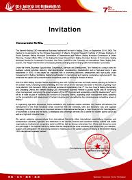 ideas collection sample of formal business invitation letter with