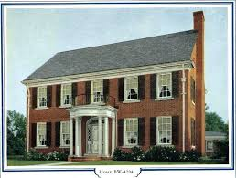 small colonial house plans small colonial style homes brick colonial house plans well homes of