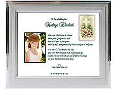 1st communion gifts communion gifts personalized and framed