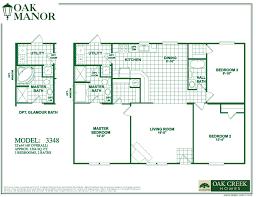 Oak Creek Homes Floor Plans Oak Creek Mobile Homes Floor Plans
