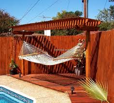 Pergola Deck Designs by 18 Best Pergola With Hammock Images On Pinterest Hammocks