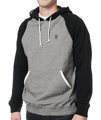 Lrg Derision Black U0026 Grey Pullover Hoodie Zumiez