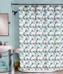 White And Teal Curtains Teal And White Shower Curtain Curtains Ideas