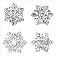 aliexpress com buy metal snowflake christmas cutting dies