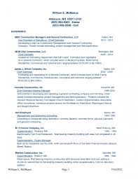 Resume Samples In Usa by Ma Resume Examples