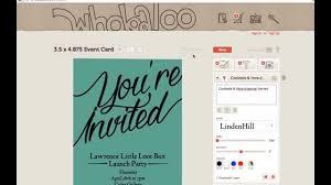 E Card Invitation Create Invitation E Cards U0026 Fb Cover Photo Youtube