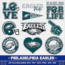 philadelphia eagles svg football clipart svg cameo philadelphia
