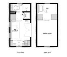 8x24 5 tiny house floor plan with washer dryer closet and 2