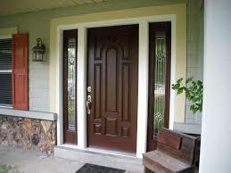 wooden door designs single front doors with sidelights exterior home design brown