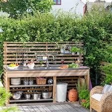 Outdoor Küche  OUTDOORLEBEN Pinterest Image Resolution - Simple outdoor kitchen