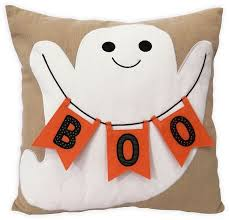 celebrate halloween together boo ghost throw pillow halloween