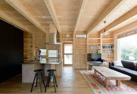 Nature Concept In Interior Design High Tech Off Grid Mirai Nihon Home Coexists With Nature In Japan