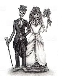 Halloween Skull Drawings Skull Art Wedding Day Of The Dead Stock Vector Art 472380446 Istock
