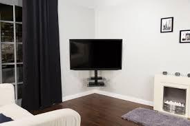 wall mounts for shelves avf cornermount zsl5502 floating corner tv mount with shelving