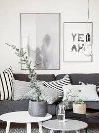 scandinavian chic living room n e u t r a l h o m e