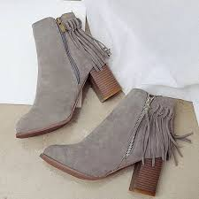 s zipper ankle boots toe zipper fringe ankle boots azbro com
