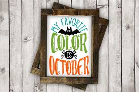 my favorite color is october by burton avenue thehungryjpeg com
