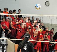 bethlehem academy volleyball empties bench in sweep of maple river