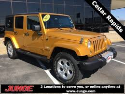 orange jeep wrangler unlimited for sale used 2014 jeep wrangler unlimited for sale hiawatha ia