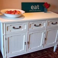 Antique White Sideboard Buffet by Furniture Antique Vintage Stonehill Buffet Sideboard With Cozy