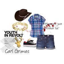 Carl Grimes Halloween Costume Walking Dead Character Sets Carl Grimes