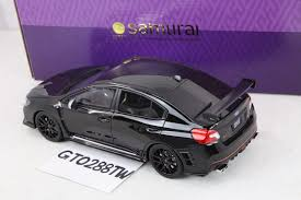 purple subaru kyosho 1 18 scale subaru wrx sti s207 nbr challenge package