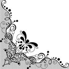 corner pattern png lace corner cliparts cliparts zone
