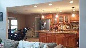 creative kitchen and family room home design very nice simple