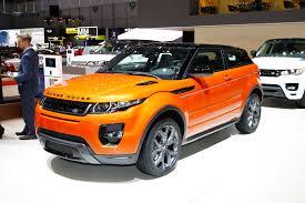 orange range rover sport new range rover evoque gets 281bhp autocar