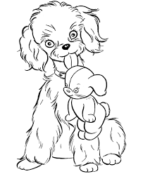 cartoon dog coloring pages coloring