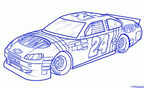 how to draw jeff gordons car 24 step by step sports pop culture