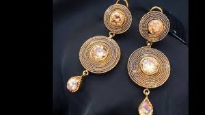 beautiful gold earrings 18 most beautiful gold earrings designs
