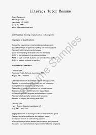 Tutor Job Description Resume by 100 Tutor Resume Example Sample Resumer Resume For Your Job