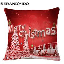 decorative cushion covers christmas throw pillow cover shabby chic