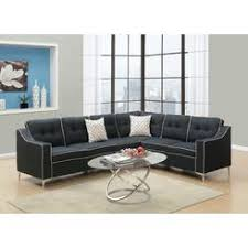 Black Sofa Sectional Sectional Couches U0026 Sofas Kmart