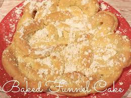 baked funnel cake recipe