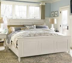 white bed frame full frame decorations