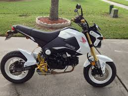 motocross bikes for sale uk a nice clean white honda grom buy one on ebay co uk moto